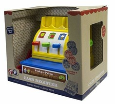 Basic Fun Fisher-Price Classics Retro Cash Register - $46.00
