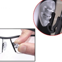 1 Pair of Clear Universal Plug-In Nose Pads for Glasses Sunglasses Eyewear - $8.56