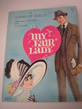 NOS My Fair Lady 5 Paper Dolls Costumes & Acces... - $46.54