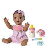 Luvabella Brown Hair Interactive Baby Doll with Expressions & Movement, ... - $104.76