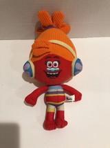 Dreamworks Trolls Plush Doll Dj Suki Movie Colorful Orange Yellow Blue Cute 2016 - $12.19