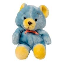 "Vintage Animal Fair Teddy Bear Plush Blue Soft Stuffed Animal 10"" Made i... - $14.99"