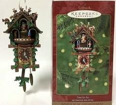 Time For Joy Musical Cuckoo Clock Hallmark Keepsake Ornament Music 2000 ... - $27.86