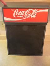 Enjoy Coca-Cola menu board sign resturant or grocery store display gener... - $33.25