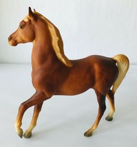 Breyer #3055 Classic Arabian Family Stallion Dark Red Sorrel 1973-1991  - $17.41