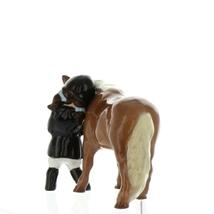 Hagen Renaker Specialty  Horse Girl and Her Pony Ceramic Figurine image 5