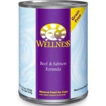 Wellness Complete Health Beef & Salmon Formula Grain-Free Canned Cat Food - $59.99+