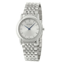 NEW Wittnauer 10A100 Astor Men's Stainless Steel Swiss Quartz Watch MSRP $875 - $449.99