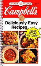 Favorite All Time Recipes, Campbell's Deliciously Easy Recipes, Cookbook - $2.75