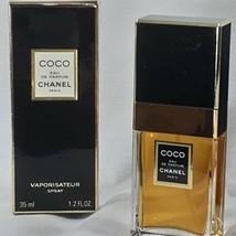 Coco Chanel 35 ml 1.2 oz Eau De Parfum Spray Vintage With The Box Made I... - $83.22