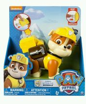 Paw Patrol Jumbo Action Pup Rubble Construction Digger Toy Bull Dog Kids... - $87.36