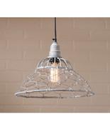 Loft Cage Pendant ~ Hanging Light in Weathered Zinc Finish - $90.11