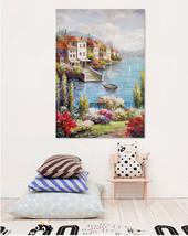 3D Fluss, Haus 23 Fototapeten Wandbild Fototapete Bild Tapete Familie AJSTORE DE - $36.55+