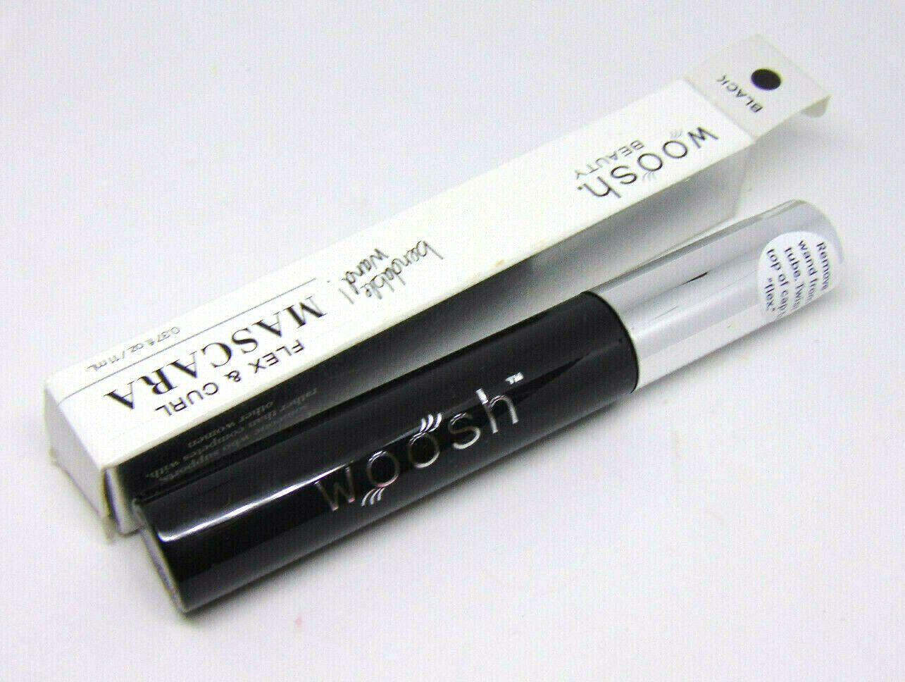 Primary image for WOOSH BEAUTY FLEX & CURL Mascara Bendable Wand Black 0.37oz/11ml NIB