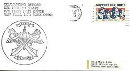 CUTLASS (SS-478) 31 Jan 1970 PM Portsmouth VA Ships Crest - $3.47