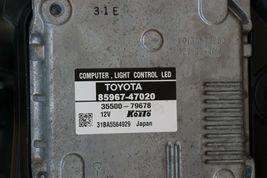 12-14 Toyota Prius-V Headlight Lamp Full LED Driver Left LH image 7