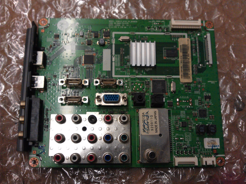BN94-02518K Main Board From  Samsung LN52B550K1FXZA LCD TV