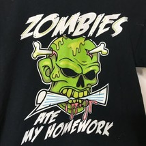 Route 66 Zombies Ate My Homework Graphic T-Shirt Boys Size M Distressed ... - $17.82