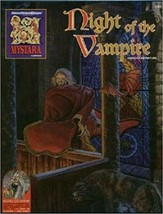 Night of the Vampire MYSTERA Box Set AD&D 2nd Ed. TSR SEALED with CD! - $49.49