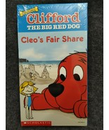 VHS Clifford the Big Red Dog - Cleo's Fair Share (VHS, 2000) - NEW - $12.99
