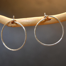 Hoops - S - Silver image 2