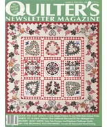 QUILTER'S NEWSLETTER MAGAZINE 1991 March Issue No. 230 - $5.00
