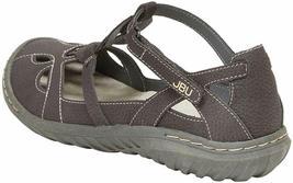 NEW JBU by Jambu Charcoal Ladies' Sydney Flat Sandals for Women JB19SNY01 image 4