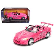 Sukis 2001 Honda S2000 Pink Fast & Furious Movie 1/24 Diecast Model Car ... - $32.30