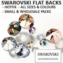 SWAROVSKI Crystal Flat Backs/Rhinestones SS16(3.9mm) KHAKI HOTFIX Pack o... - $69.29