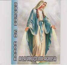Novena En Honor a La Virgen Milagrosas
