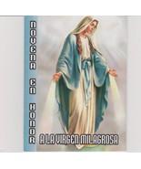 Novena En Honor a La Virgen Milagrosas - $2.95