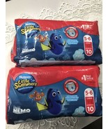 Huggies Little Swimmers Swim Diapers, Size 5-6 Large, 2 - 10 Pack = 20 - $19.75