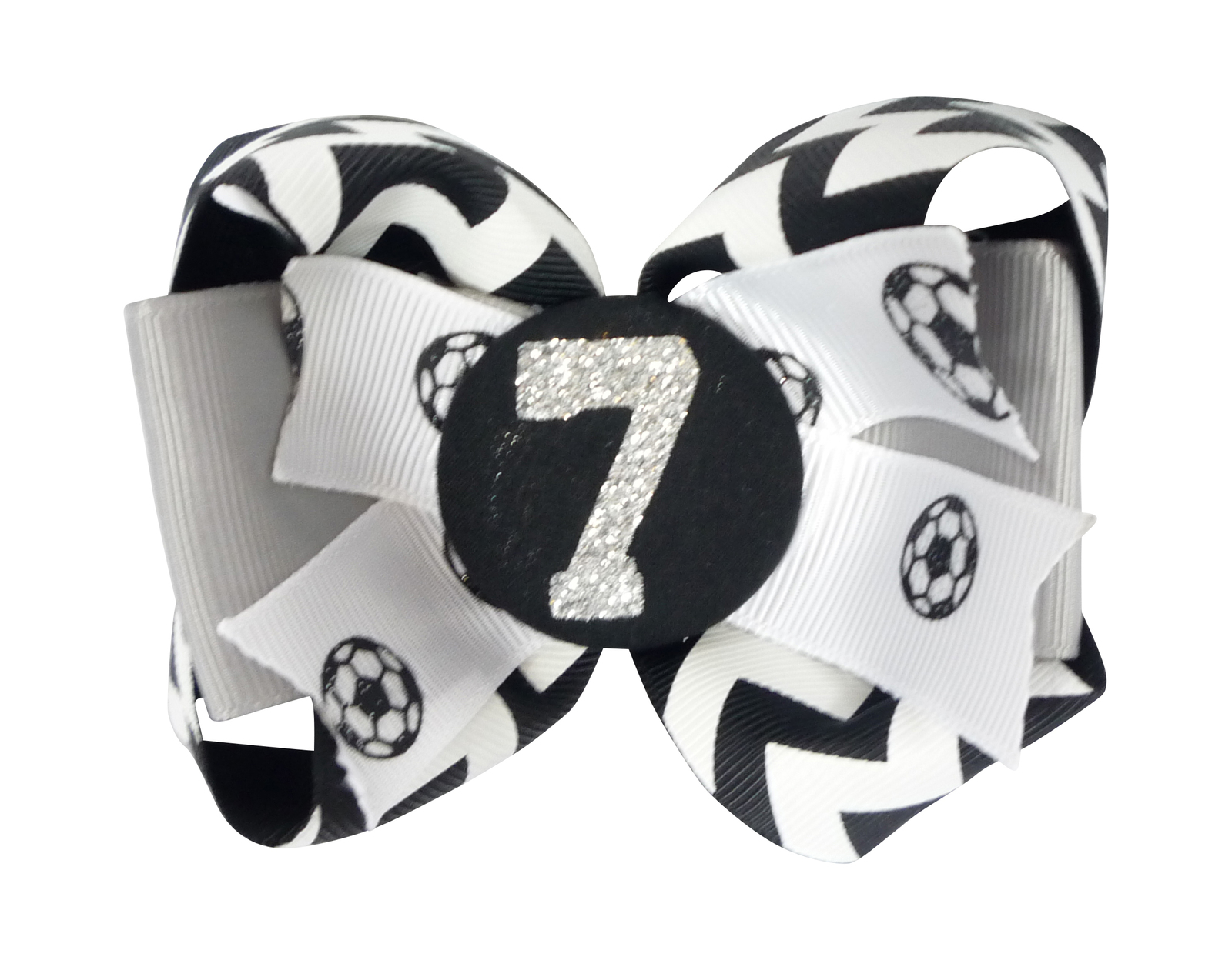 c53e16597e507d Soccer Hair Bow - Custom Glitter and Ribbons and 50 similar items