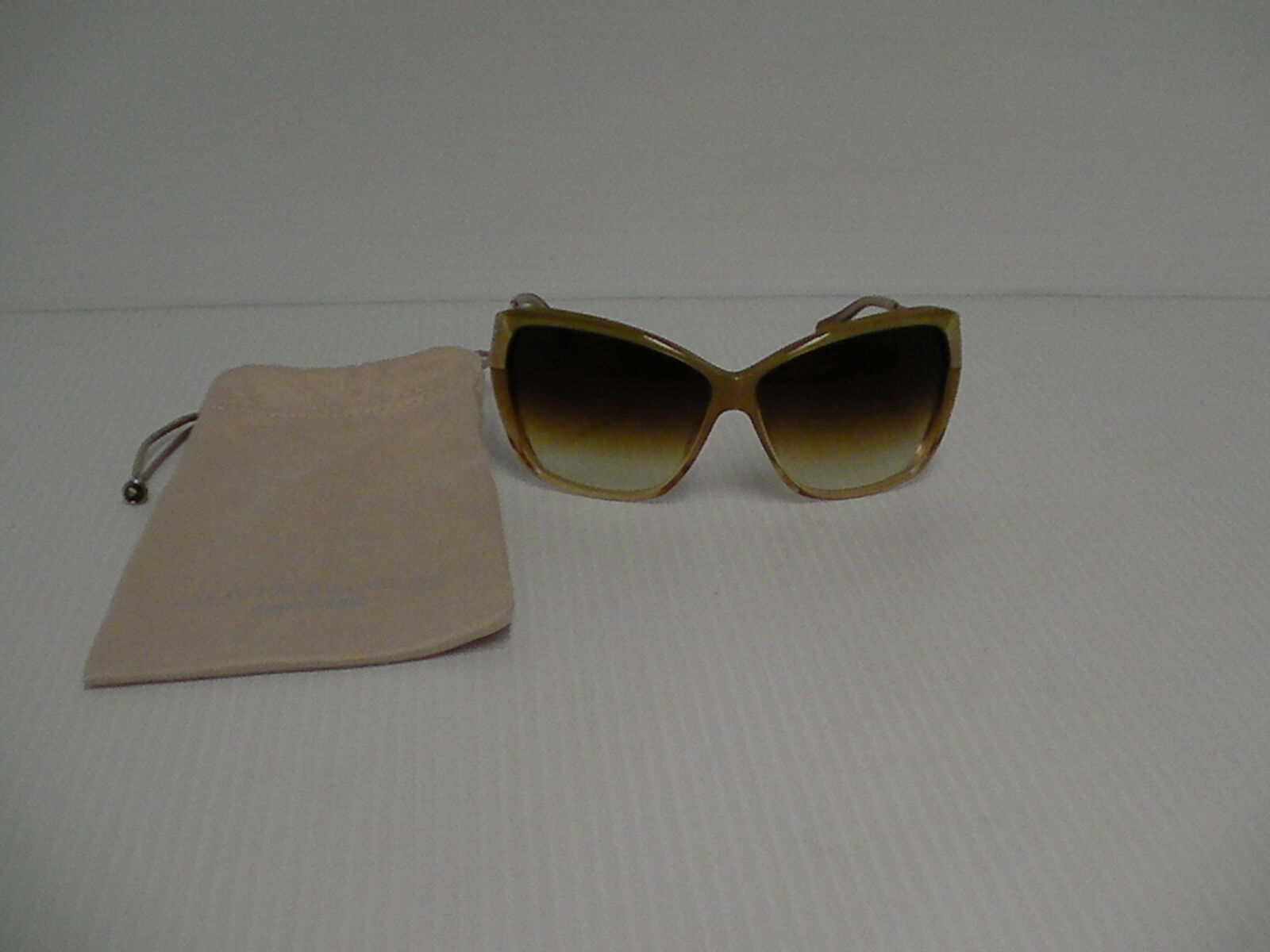 Womens OLIVER PEOPLES NEW SUNGLASSES SKYLA HAMMERED GOLD AMBER LENSE
