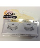Andrea's Strip Lashes Fashion Eye Lash Style 53 Black - (Pack of 4) - $13.97