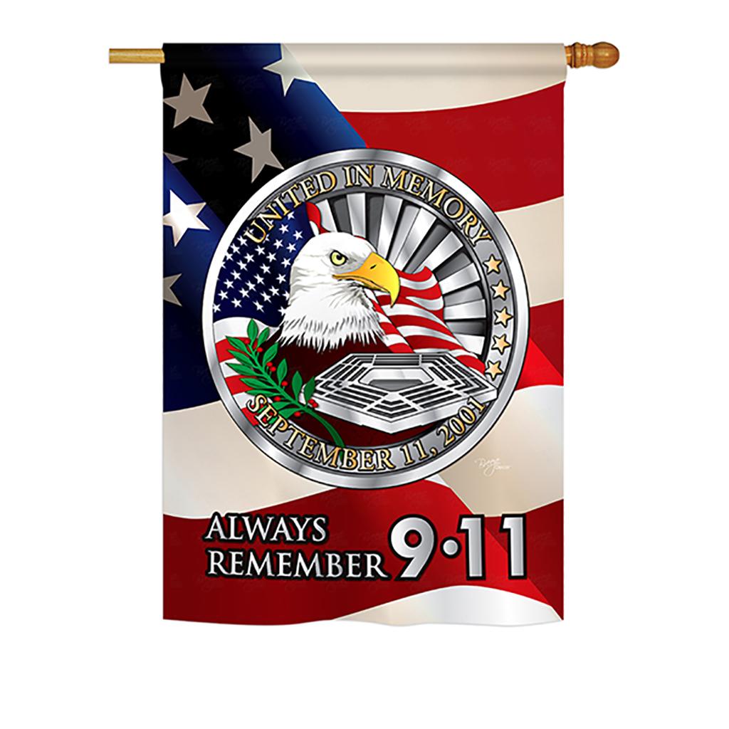 House flag patriotic h111063