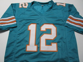BOB GRIESE / NFL HALL OF FAME / AUTOGRAPHED MIAMI DOLPHINS CUSTOM JERSEY / COA image 2