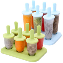 Frozen Ice Cube Molds Popsicle Maker DIY Ice Cream Tools Cooking Tools - $8.87 CAD