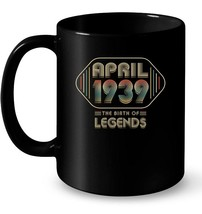 Retro The Birth Legend April 1939 79th Birthday Gifts 79 yrs - $13.99+