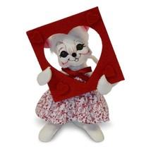 """Annalee 2018 Valentine's Day 6"""" PICTURE PERFECT MOUSE Poseable Doll 100718 - $20.79"""