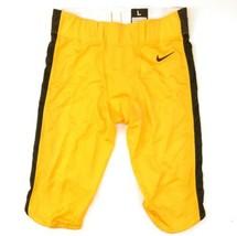 Nike Custom Vapor Football Varsity Game Pant Men's Large 908713 Yellow 908713 - $39.59