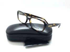Coach Women Tortoise New Eyeglasses HC 6105 5394 Tort Gold Sig C 53 Plastic - $78.37