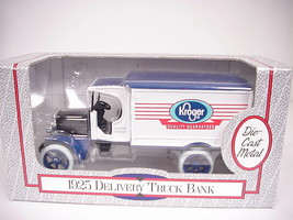 ERTL 1925 Kroger Limited Edition Diecast Metal Del. Truck Bank, #3757,1/... - $17.81