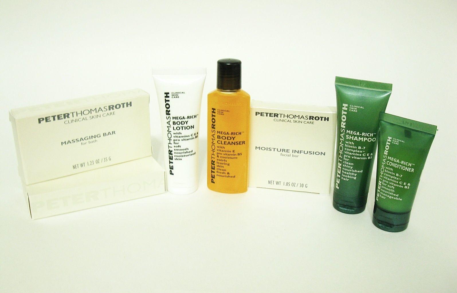LOT 7 Peter Thomas Roth Hilton Travel size Bath Body Essentials - $7.45