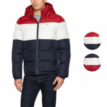 Tommy Hilfiger Men's Ultra Loft Insulated Classic Hooded Puffer Jacket Coat - $125.00