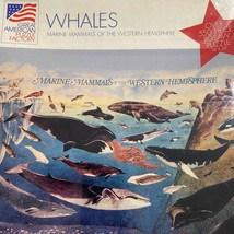 Great american puzzle factory whales marine mammals w hemisphere 550 pieces - $20.75