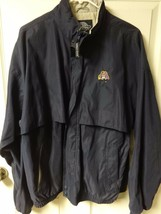 Authentic East Carolina Pirates Premium Jacket Zipped Front Mens L Charl... - $22.39