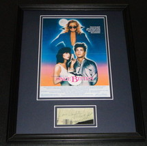 Lauren Hutton Signed Framed 11x14 Photo Display Once Bitten - $69.76
