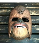 Disney Star Wars Force Awakens Chewbacca Electronic Mask Hasbro Talk Lau... - $24.74