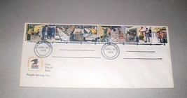 STAMPS: First Day Cover 4-30-1973 People Serving You - $1.50
